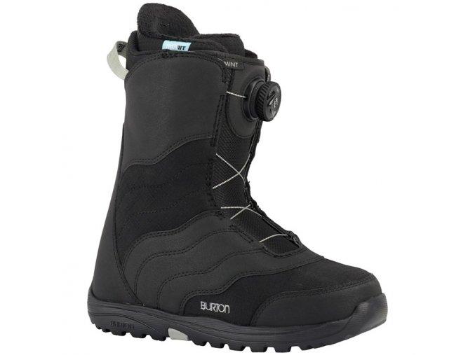 burton mint boa snowboard boots women s 2018 black