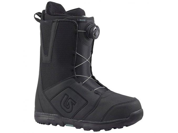 burton moto boa snowboard boots 2018 black