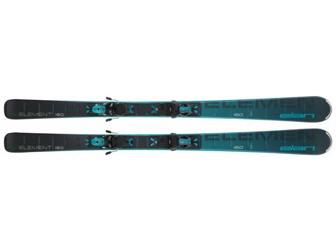 Elan ELEMENT BLACK BLUE LightShift + ELW 9 20/21