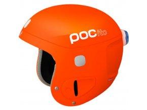 poc pocito skull helmet youth flourescent orange