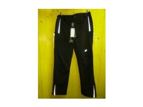 Bs czarny softshell pants men