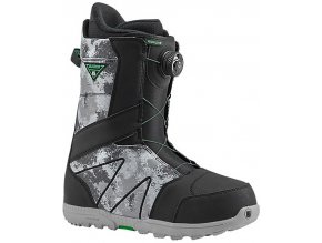 burton highline boa black gray original