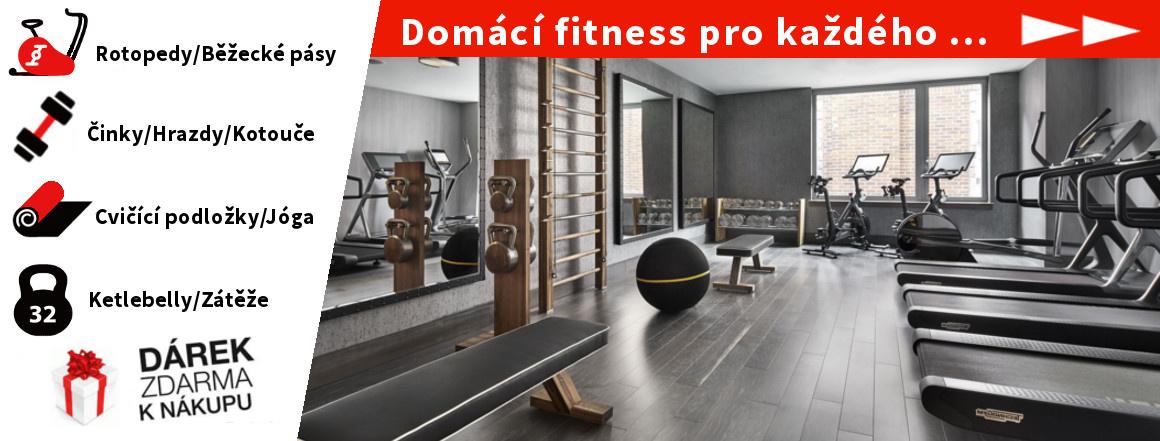 Vybav se perfektním fitness náčiním, vše na jednom místě !