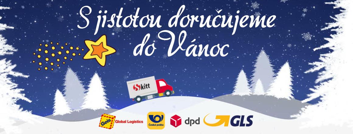 Garance doručení do Vánoc u dopravců: GEIS, GLS, ČP, DPD