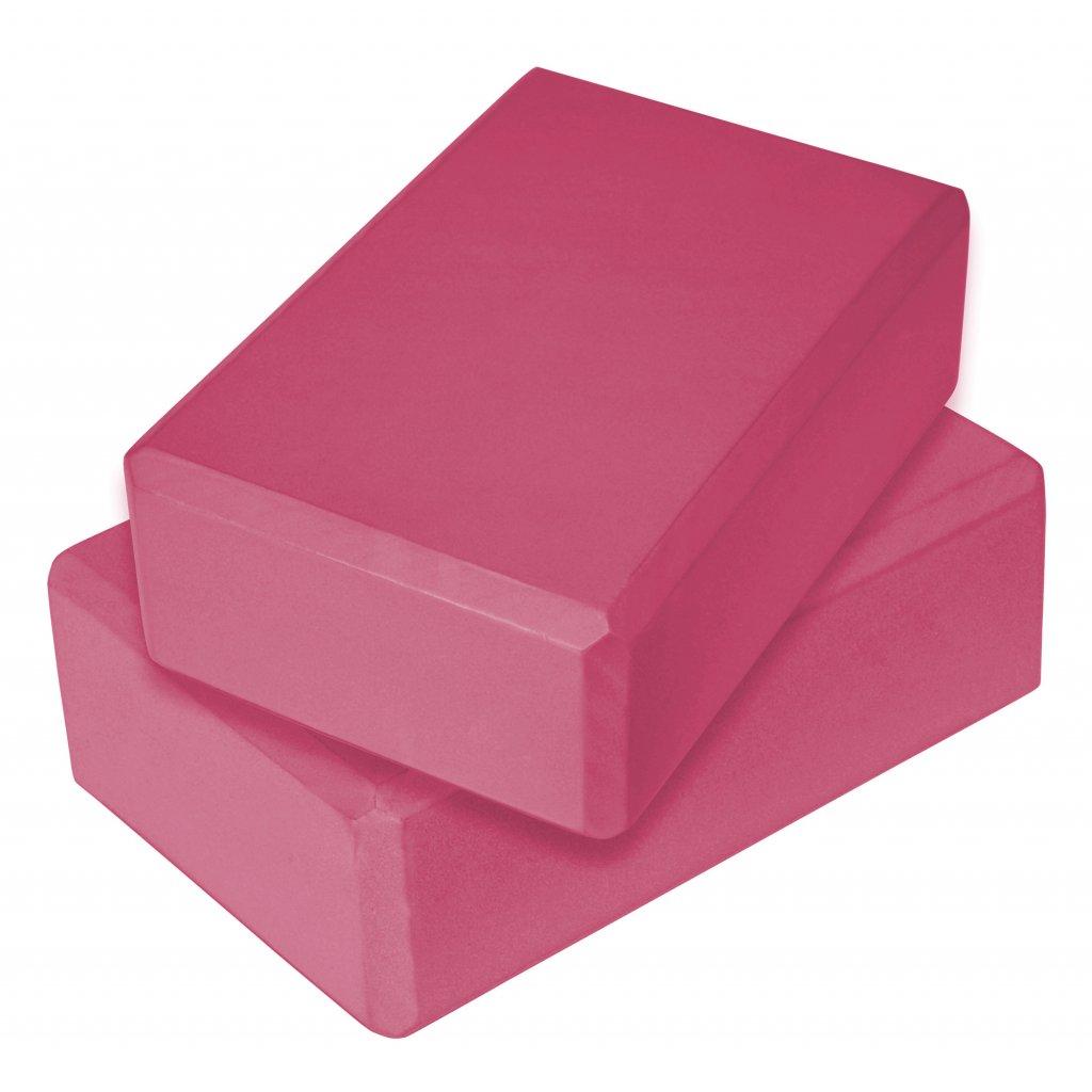 Jóga blok SVX, růžová