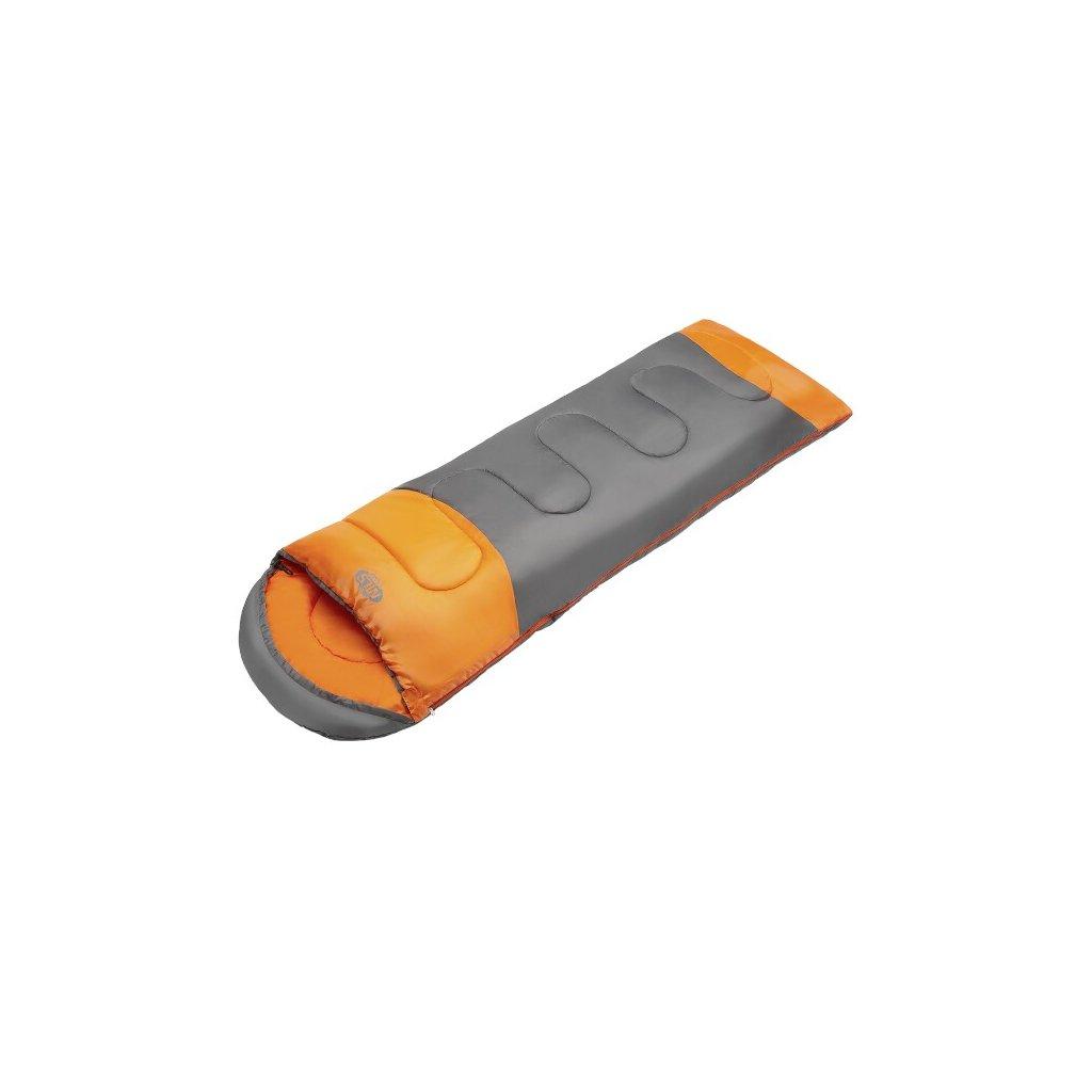 Spací pytel NILS Camp NC2008, šedý/oranžový