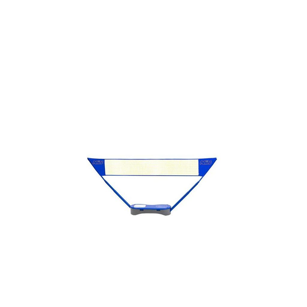 Sestava sítě badminton/tenis + 2 x badmintonové rakety ZSB 2v1 NILS