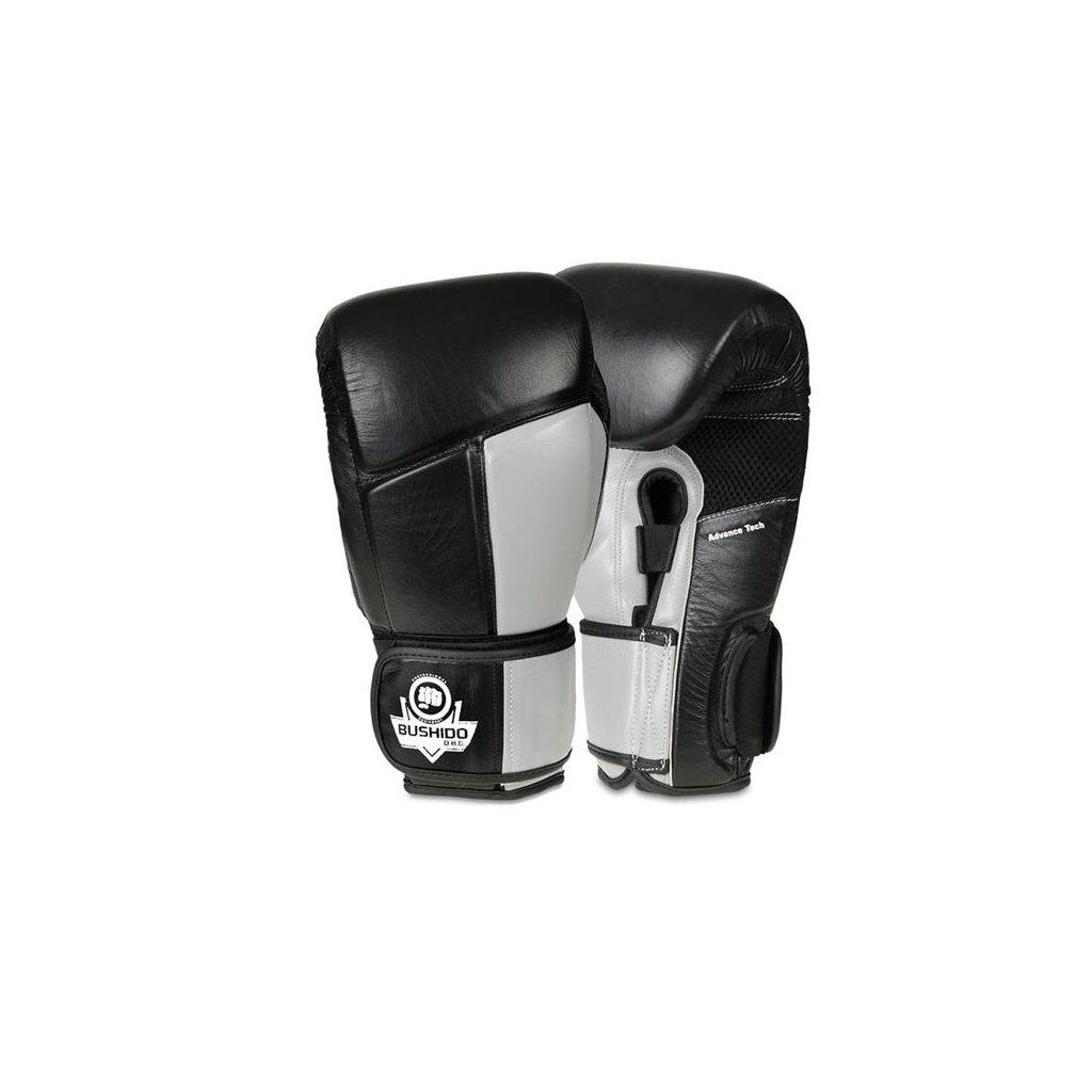 Boxerské rukavice DBX BUSHIDO ARB-431 šedé
