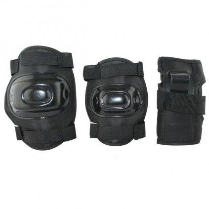 Černá souprava chráničů EX108