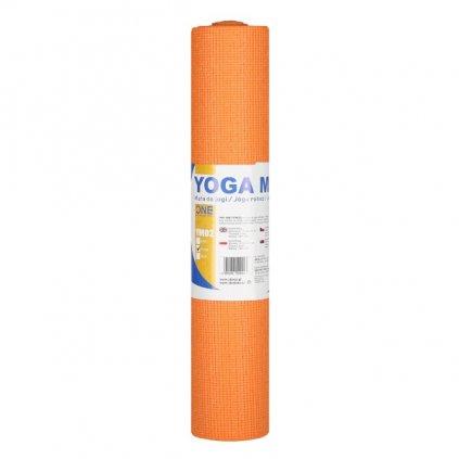 Podložka pro jógu ONE FITNESS YM02 Oranžová