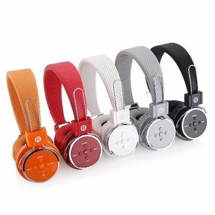 Bluetooth sluchátka BT05, + FM rádio, mSD