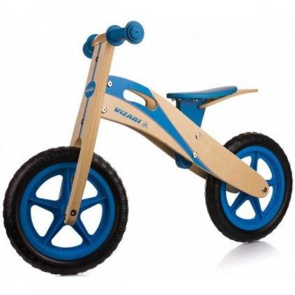 rowerek biegowy enero drewniany niebieski 12