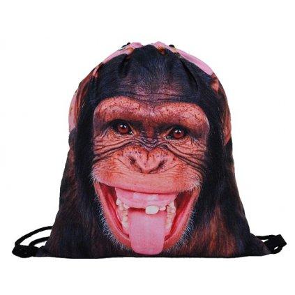 Vak na záda 3D Opice