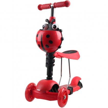 hulajnoga balansowa jezdzik 3w1 enero biedronka czerwona