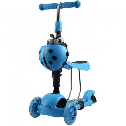 hulajnoga balansowa jezdzik 3w1 enero biedronka niebieska