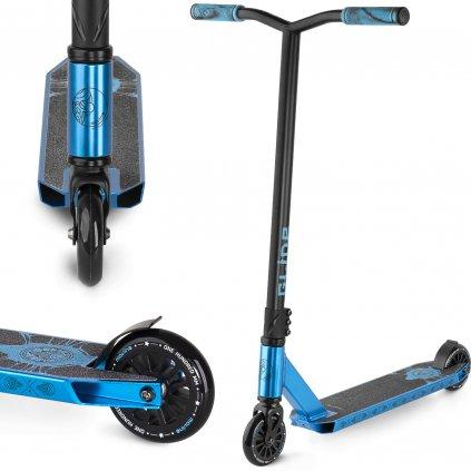 Freestyle koloběžka MOVINO Stunt GLIDE, Metalic Blue