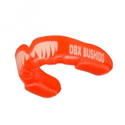 Chránič zubů DBX BUSHIDO MG-1 červený s tesáky