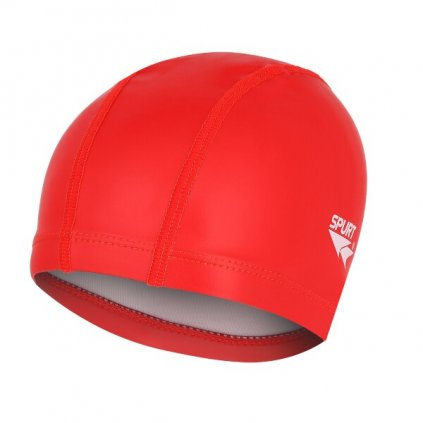 Plavecká čepice SPURT RD01, červená
