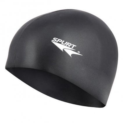 Silikonová čepice SPURT PRO SB14 senior, černá