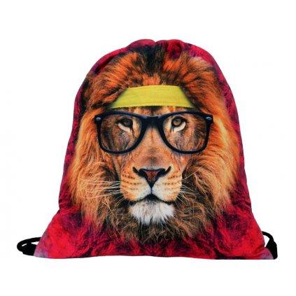 Vak na zada na prezuvky batuzek lev etno rasta 1