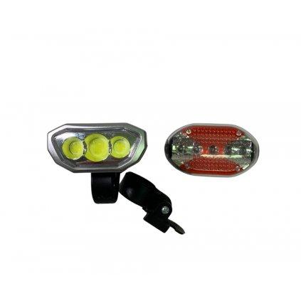 Baterka na kolo/koloběžku, přední i zadní