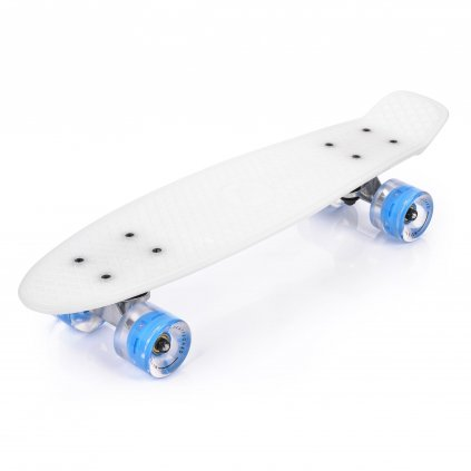 Pennyboard MTR 56 cm s LED kolečky, WHITE EAGLE