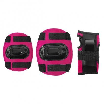 Růžová souprava chráničů EX108