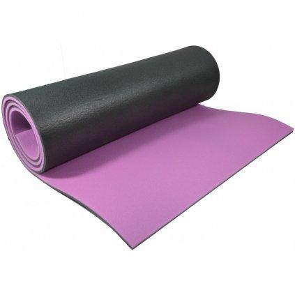 mata do jogi dwuwarstwowa 1800x610x8mm fioletowa eb fit