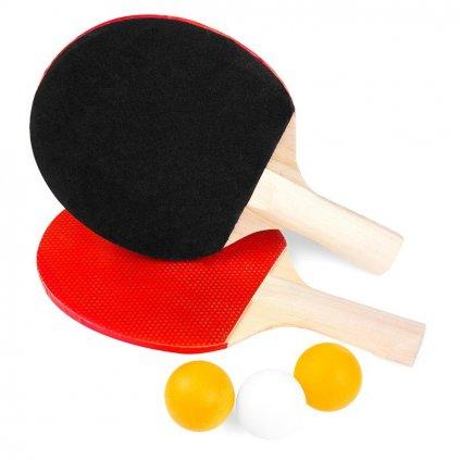 Pingpongová sada SP BASIC, 2 pálky, 3 míčky