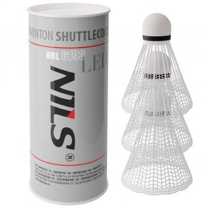 Badmintonové míčky NILS NBL6193 s LED 3 ks