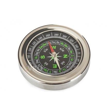 Kovový kompas/buzola, kapesní