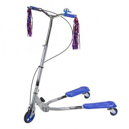 Koloběžka tříkolová NILS EXTREME Fliker 125 modrá