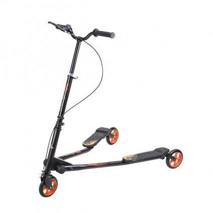 Koloběžka tříkolová NEX Fliker 145 oranžová