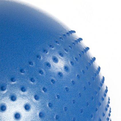 Masážní gymnastický míč HMS YB03 55 cm, modrý