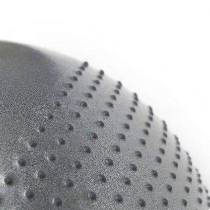 Masážní gymnastický míč HMS YB03 65 cm, tmavě šedý