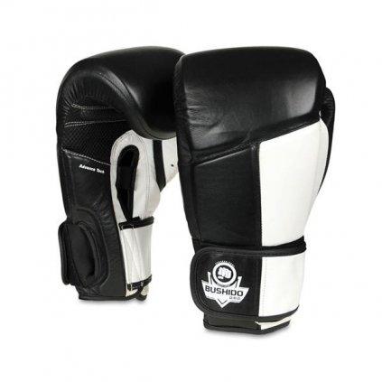Boxerské rukavice DBX BUSHIDO ARB-431 bílé