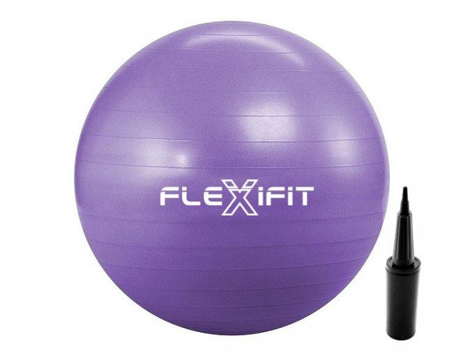 pilka do cwiczen i rehabilitacyjna violet 1