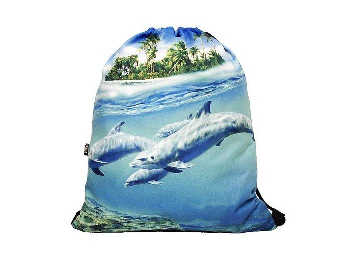 Vak na záda 3D Delfínek