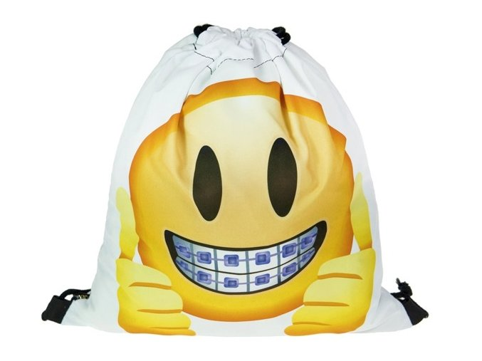Vak na záda 3D Emoji