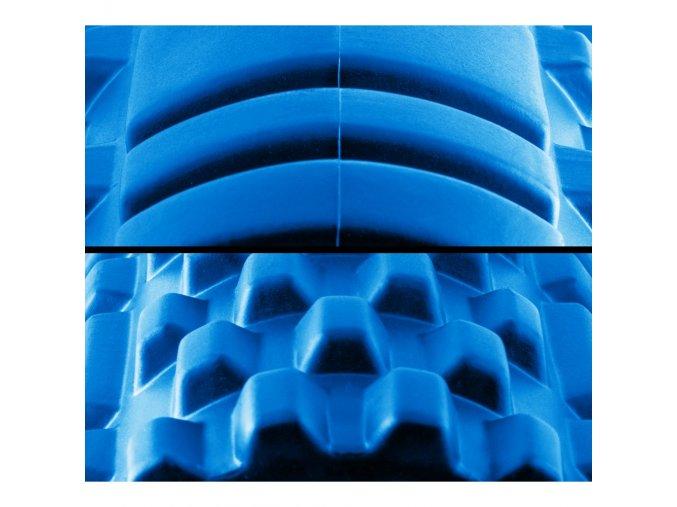Masážní válec 33x14cm, modrý
