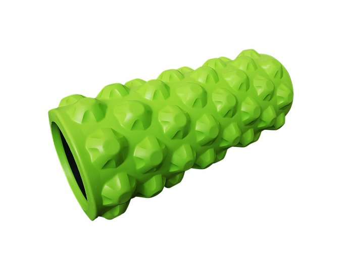 Masážní válec 33x14cm, zelený