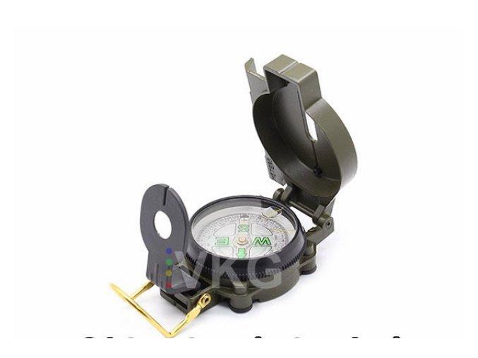 Zavírací kompas/buzola, kapesní
