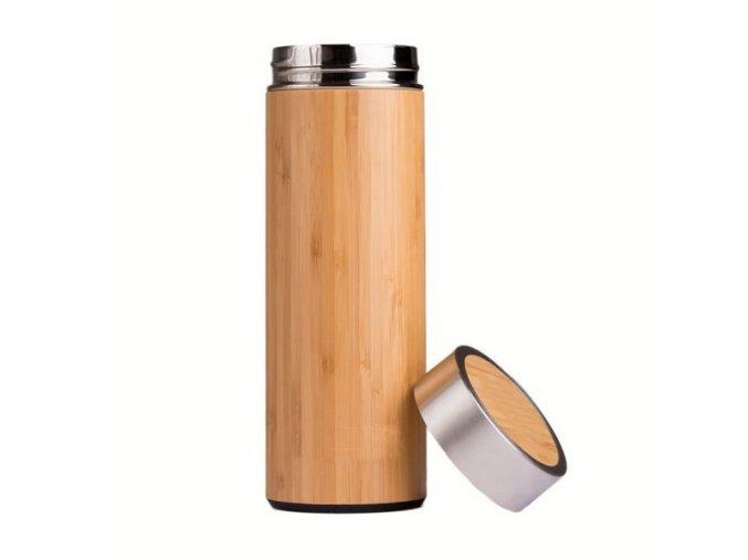 termoska na caj bambus 1