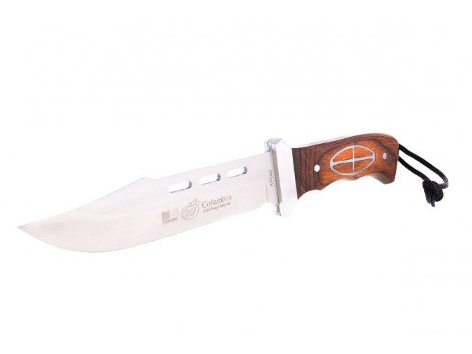 Taktický nůž Columbia, 29,5cm, dřevo