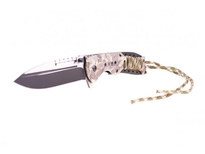 Vystřelovací nůž s odnímatelným provázkem, 21,5cm