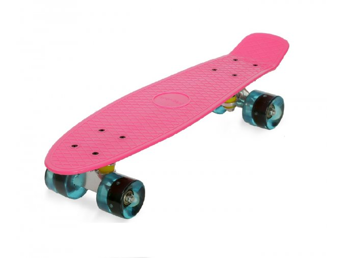 penny board movino 56 cm al truck růžový
