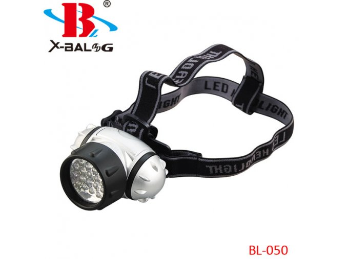 Čelovka Bailong BL-050, LED světlo, 3xAAA baterie