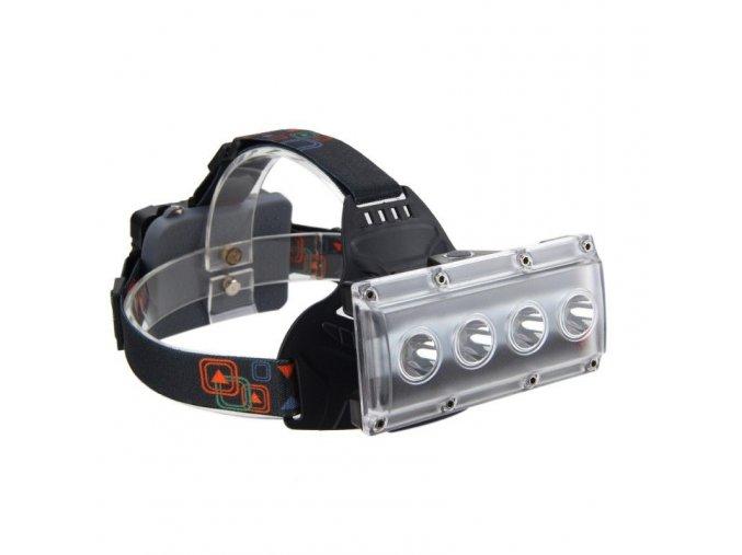 USB čelovka W616, typ led 4xT6