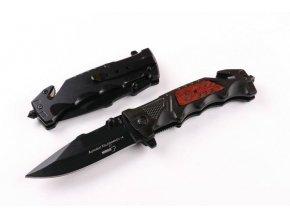 Polo-keramický nerezový nůž, skládací, 24cm