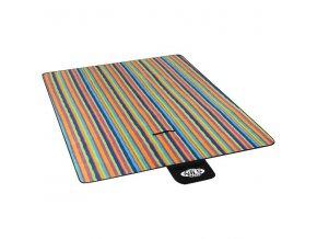 Pikniková deka NILS CAMP NC2215 barevná